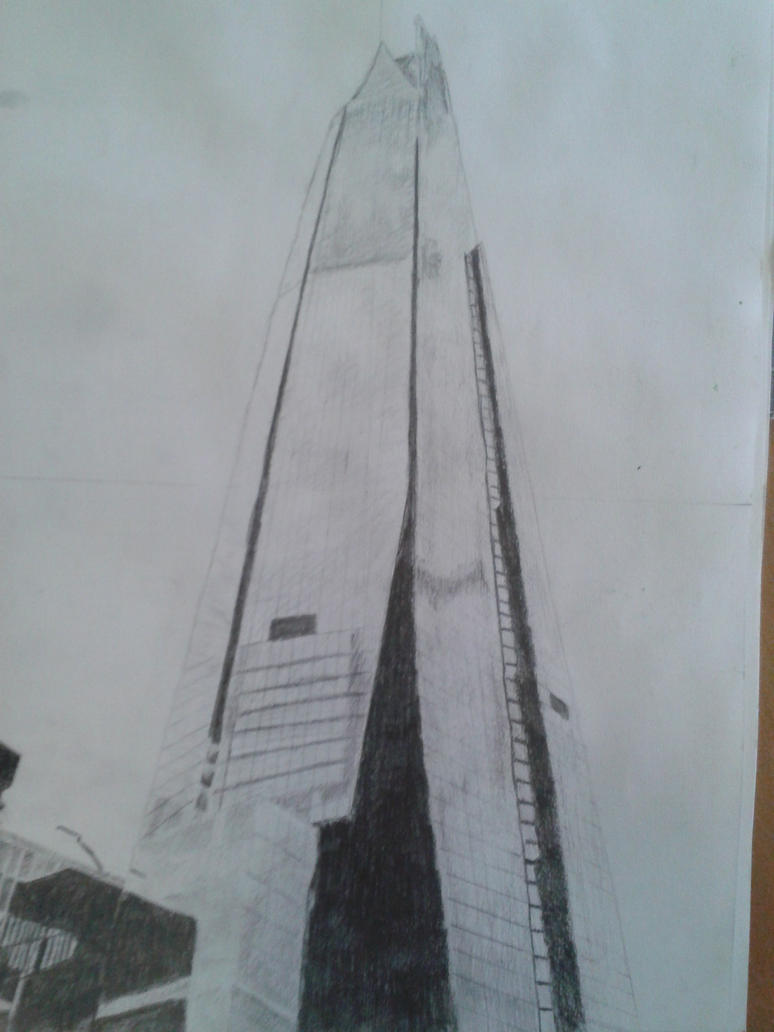 The Shard by DrawingMasterPeace