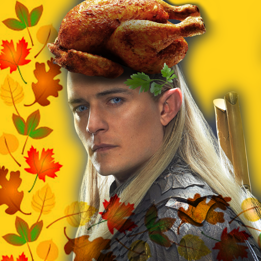 Legolas Thanksgiving by NetherStray