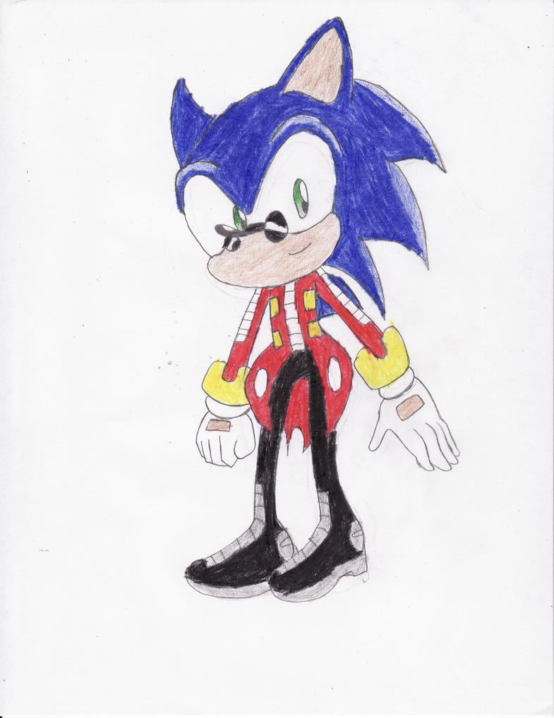 Sonic Dressed As Dr. Eggman by BlueSpeedsFan92