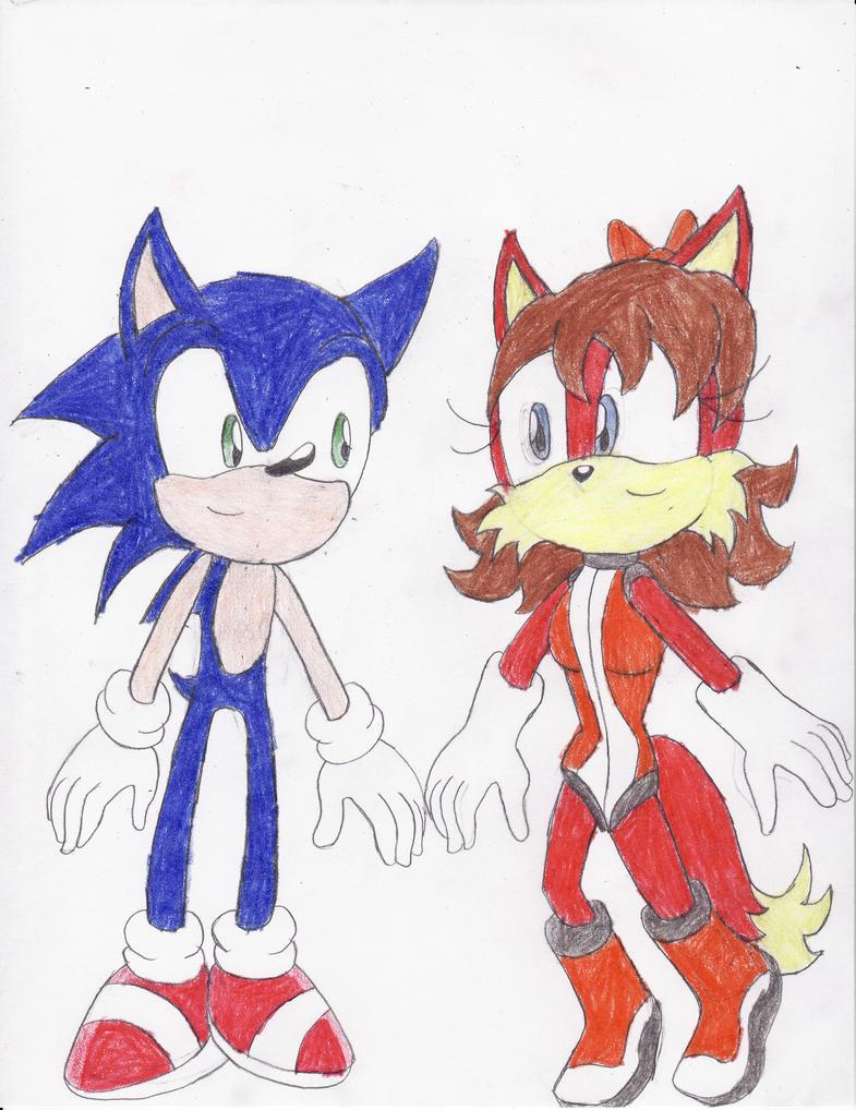 Sonic x Fiona by BlueSpeedsFan92