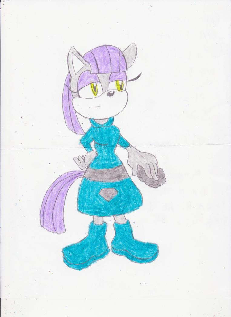 Maud Pie Sonic Form by BlueSpeedsFan92