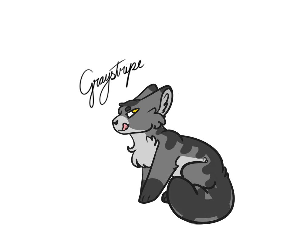 2. Graystripe by Yo-Silverpelt