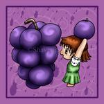 Grapes Kagura by ShavingSheep
