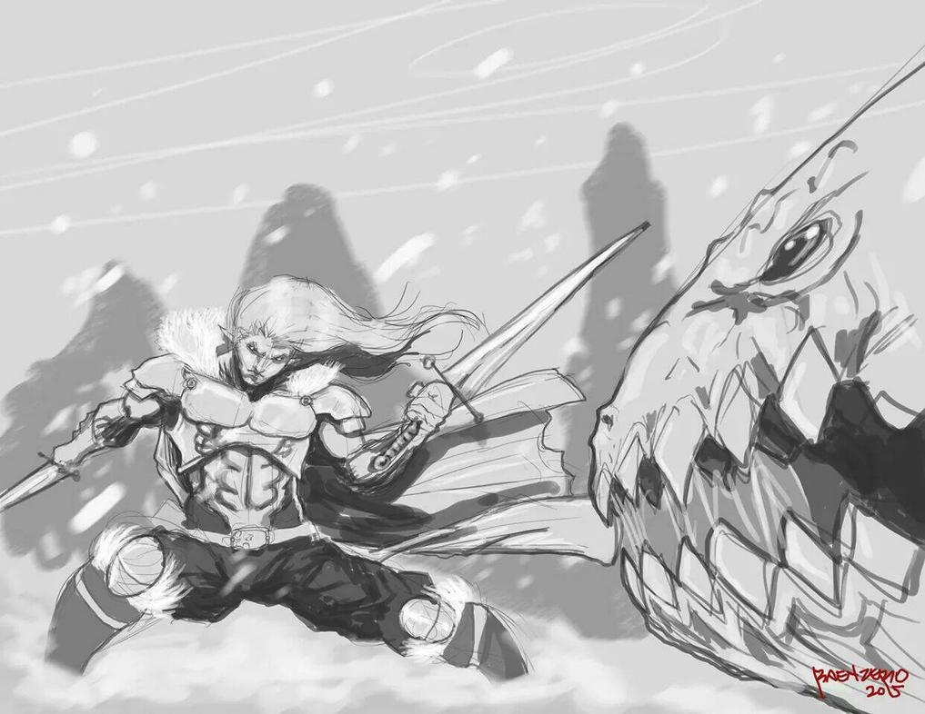 Winter Battle by RaenZero