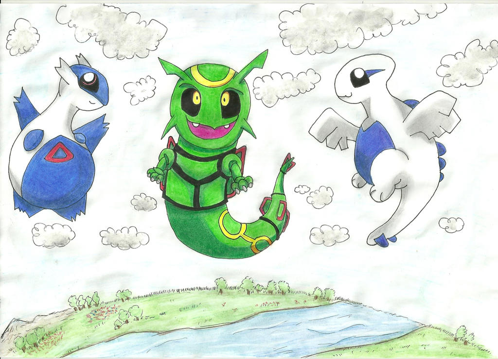 Legendary Dragon Pokemon By Tigreperro On DeviantArt