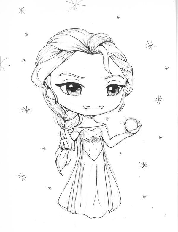 Elsa chibi ske...