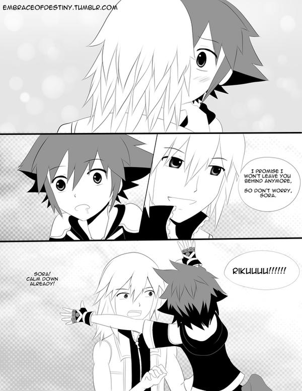 SoRiku Comic Page #2 by fryzylstyk