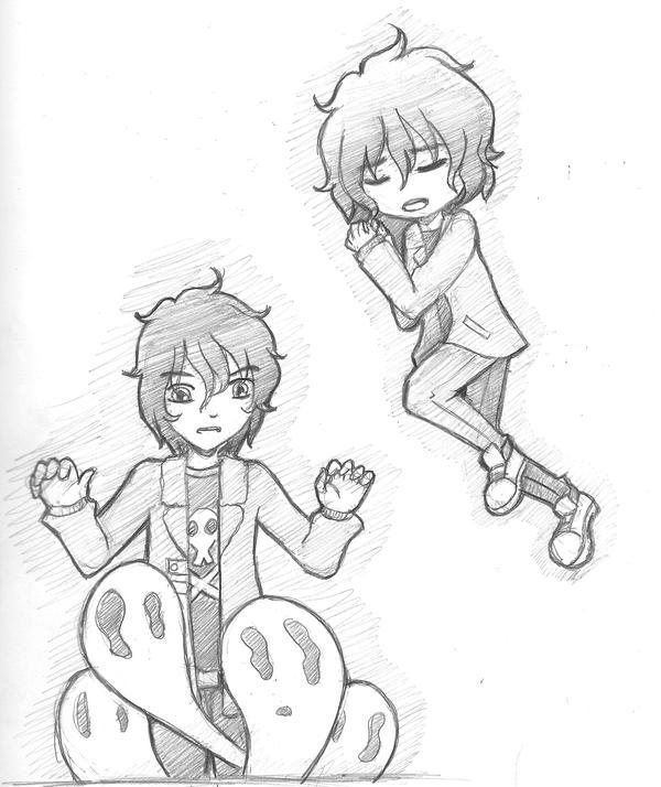 Nico sketchess by fryzylstyk
