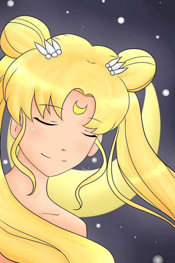 Sailor Moon by fryzylstyk