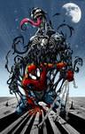 Spider Man and Venom - Marvel