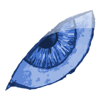 The Left Blue Eye by IxoliteFH