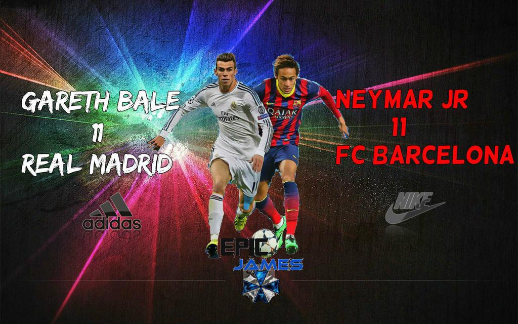 Gareth Bale Vs Neymar Jr Wallpaper By EpicKingJames