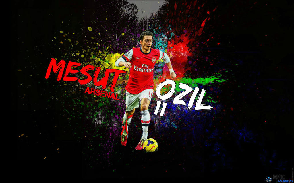 Mesut Ozil Wallpaper 2014 By EpicKingJames On DeviantArt