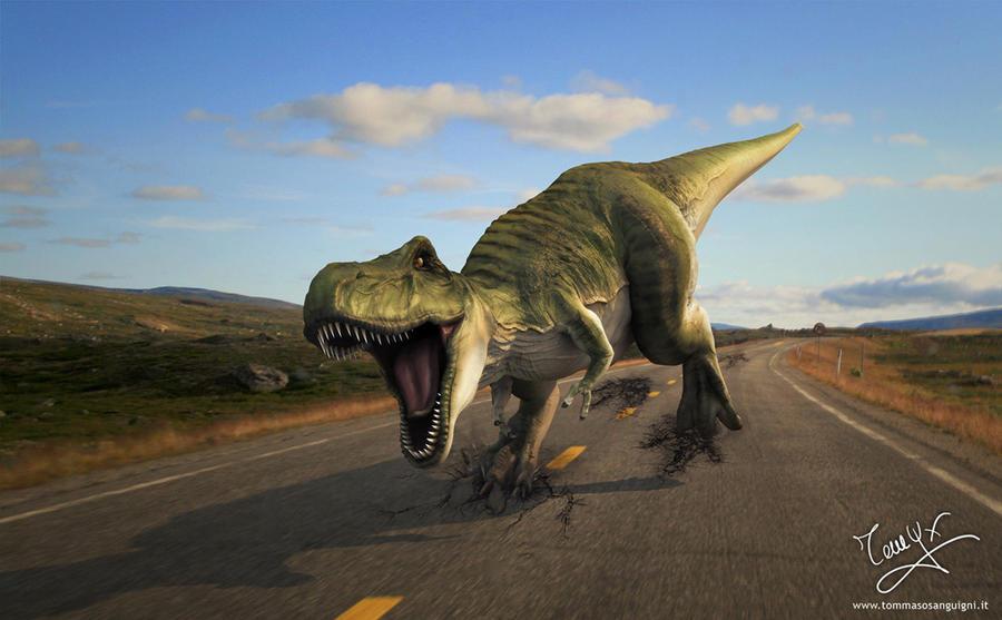 running with dinosaur wallpaper - photo #3