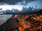 sunset in Sperlonga