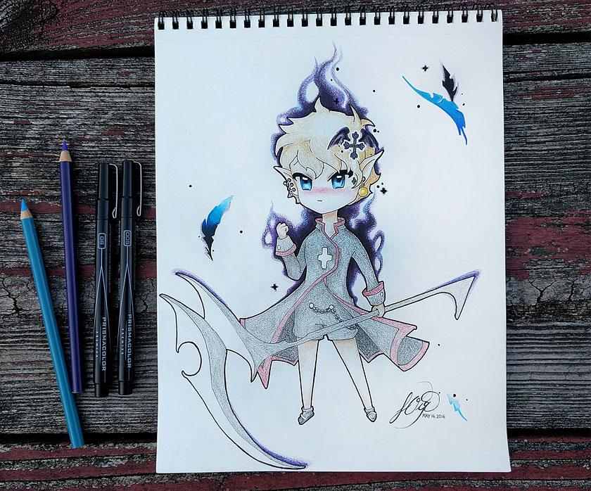 Cyrain by ART-YL