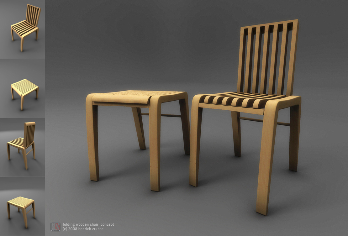fold up wooden chairs