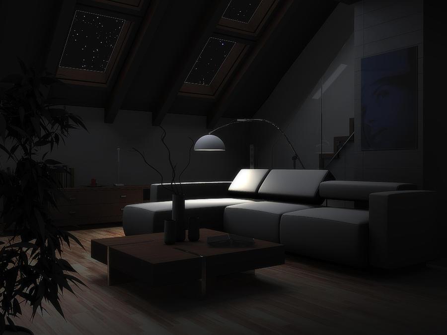 Living Room Setup Design