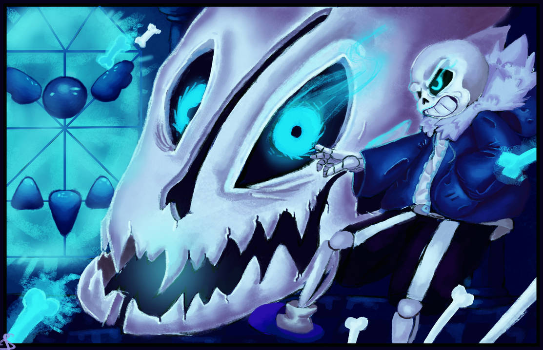 Strong Attack Comes First! - Sans (UNDERTALE) by