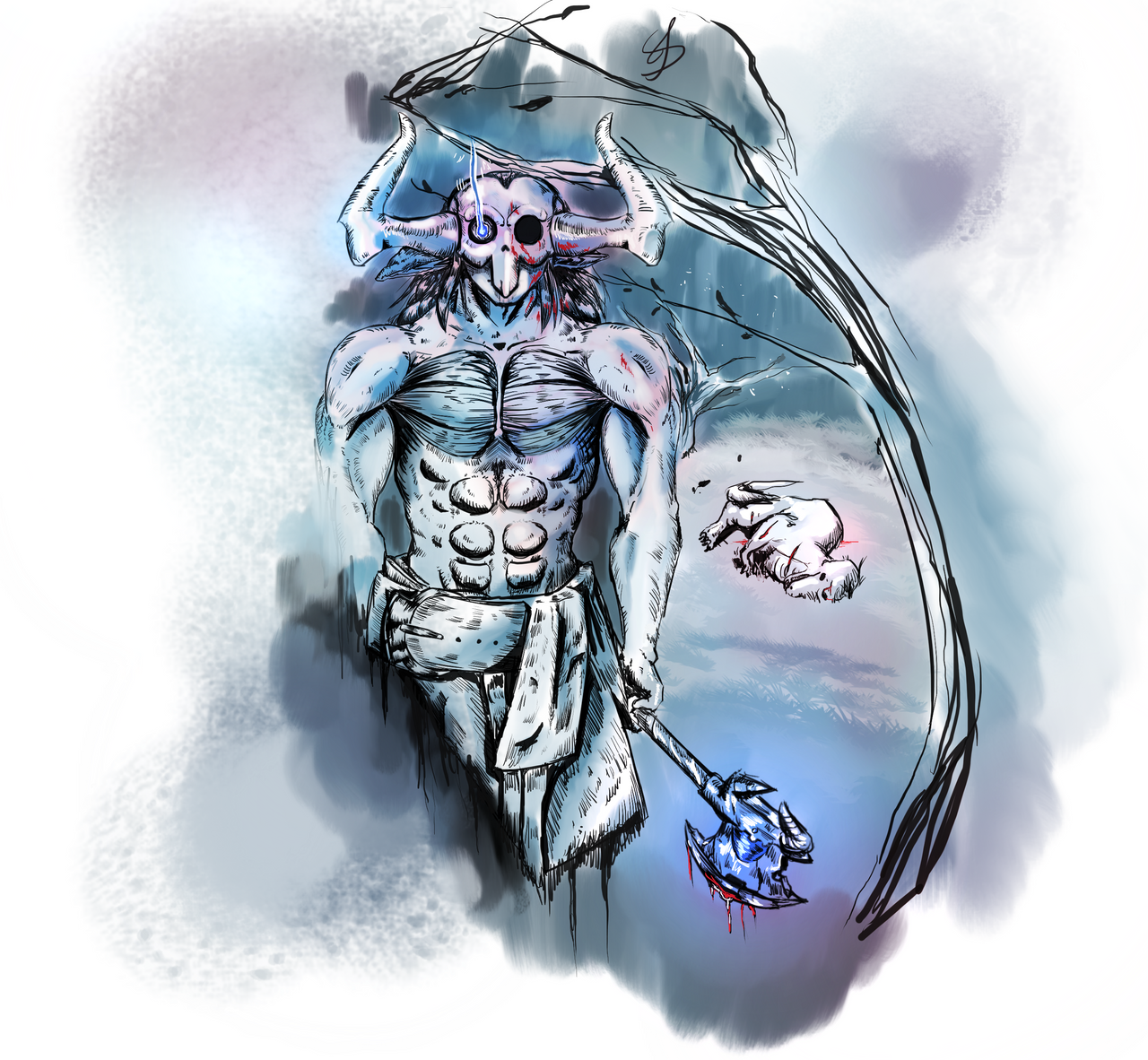 Zil - DaFam Art fight 2018! by RandomDigiArtist
