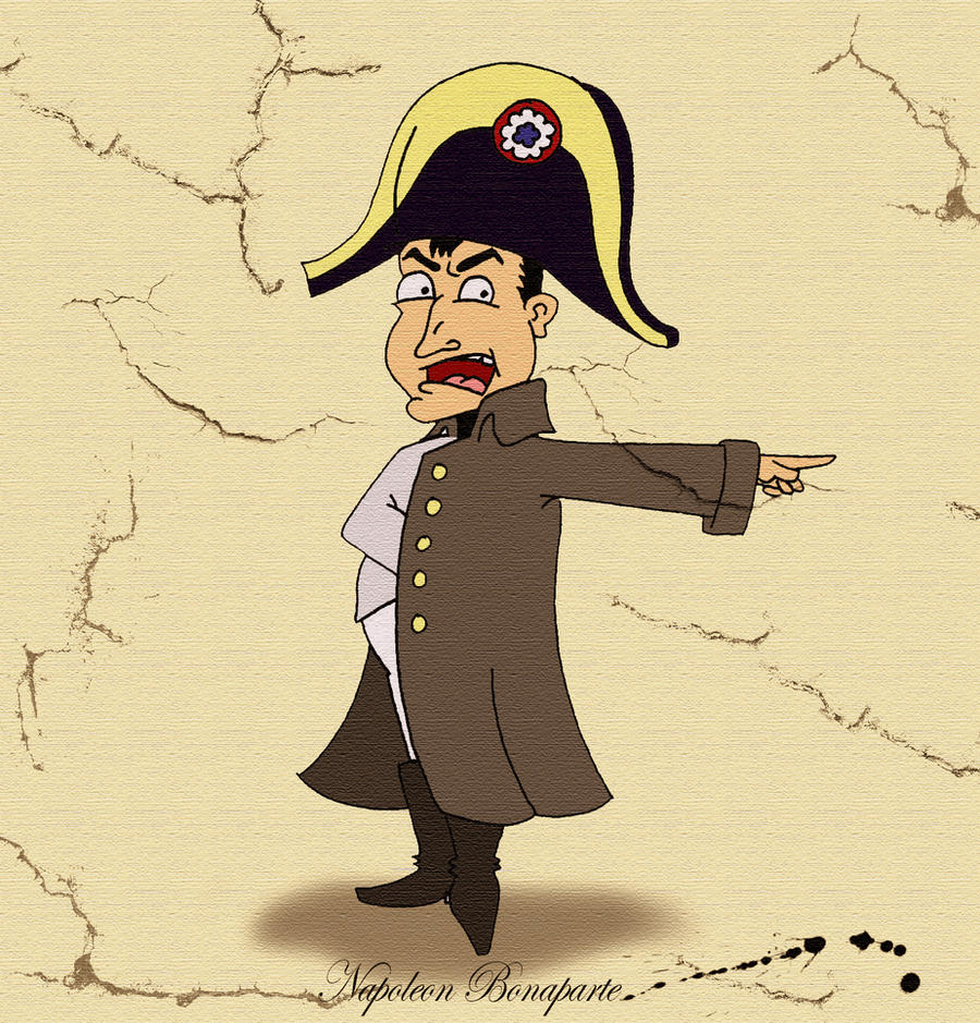 Napoleon Bonaparte by Jwpepr