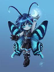 Zodiac moth chibi