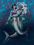 Shark Embrace