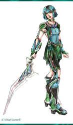 Emerald Elf by Chael