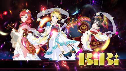 Love Live! School Idol Festival BiBi Wallpaper by Ch1zuruu