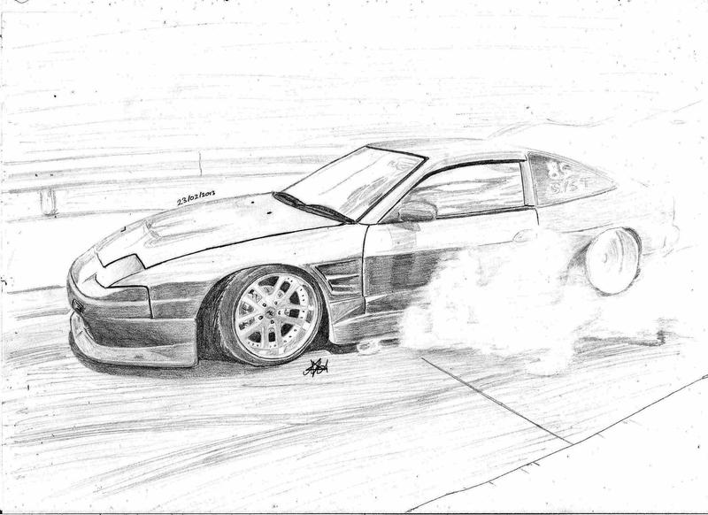 Nissan 180SX By CptSky On DeviantArt