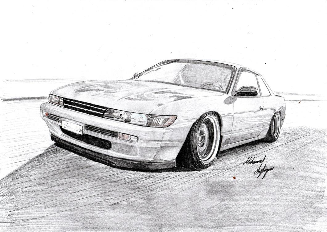 Nissan Silvia S13 by CptSky