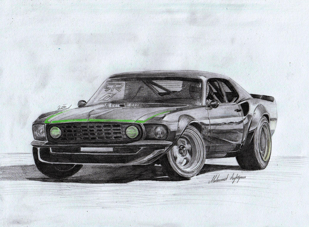 1969 Ford Mustang 302 Boss by CptSky
