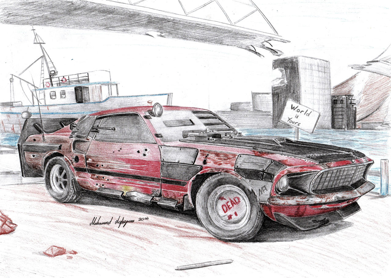 Ford Mustang Concept 2017 >> Ford Mustang 302 Boss Post-Apocalyptic by CptSky on DeviantArt