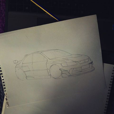 Evo 9 Coming!! :D by CptSky
