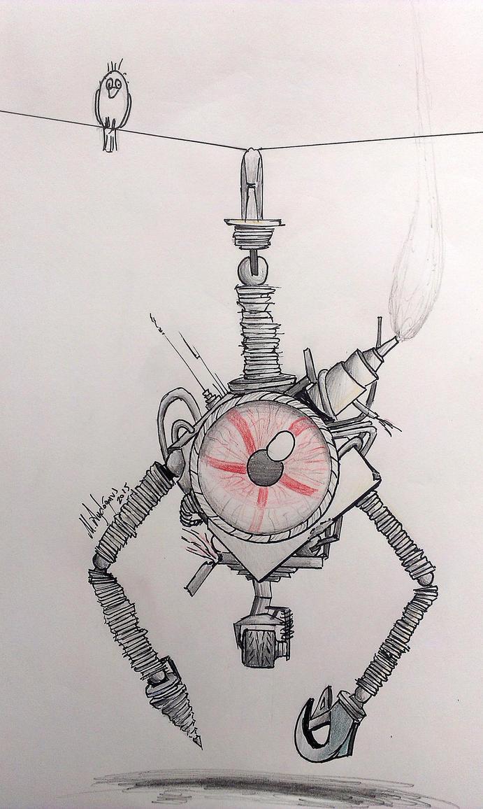 Mr.BigEye  -Robot by CptSky