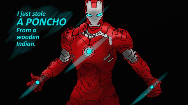 Iron man drawing by mrgrey55