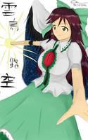 Drawing Touhou in 1 hour : Utsuho Reiuji by Generalmaster
