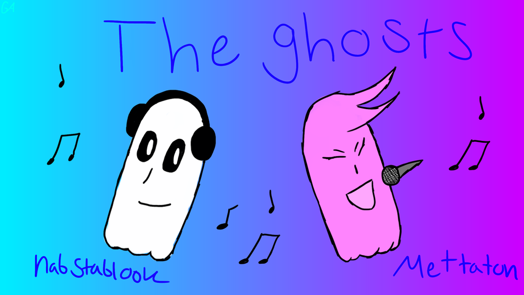 The ghosts (Blooky, and Mettaton ghost form) by Gameingartist on ...