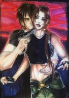 Lara x Kurtis sketch by Adayka