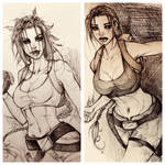 Some tomb rider sketches