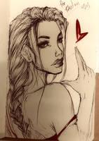 lara croft by Adayka