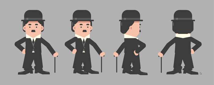 Charlie Chaplin infographic