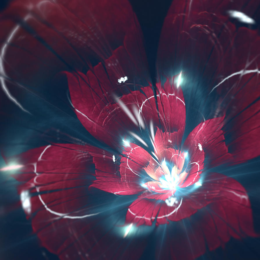 Red Flower by C-91