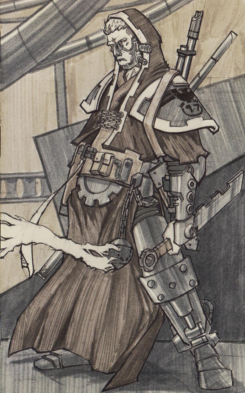 Engineseer Bishop Geist by dForrest
