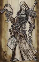 Commission - Dark Heresy - Cleric - Anastasia by dForrest