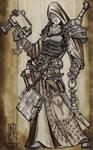 Commission - Dark Heresy - Cleric - Anastasia