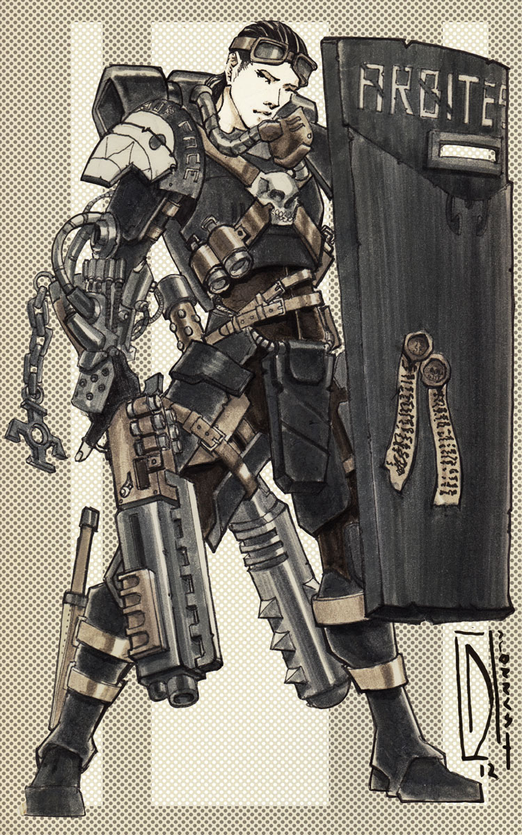 Arbitrator Chelsea (Dark Heresy Commission) by dForrest