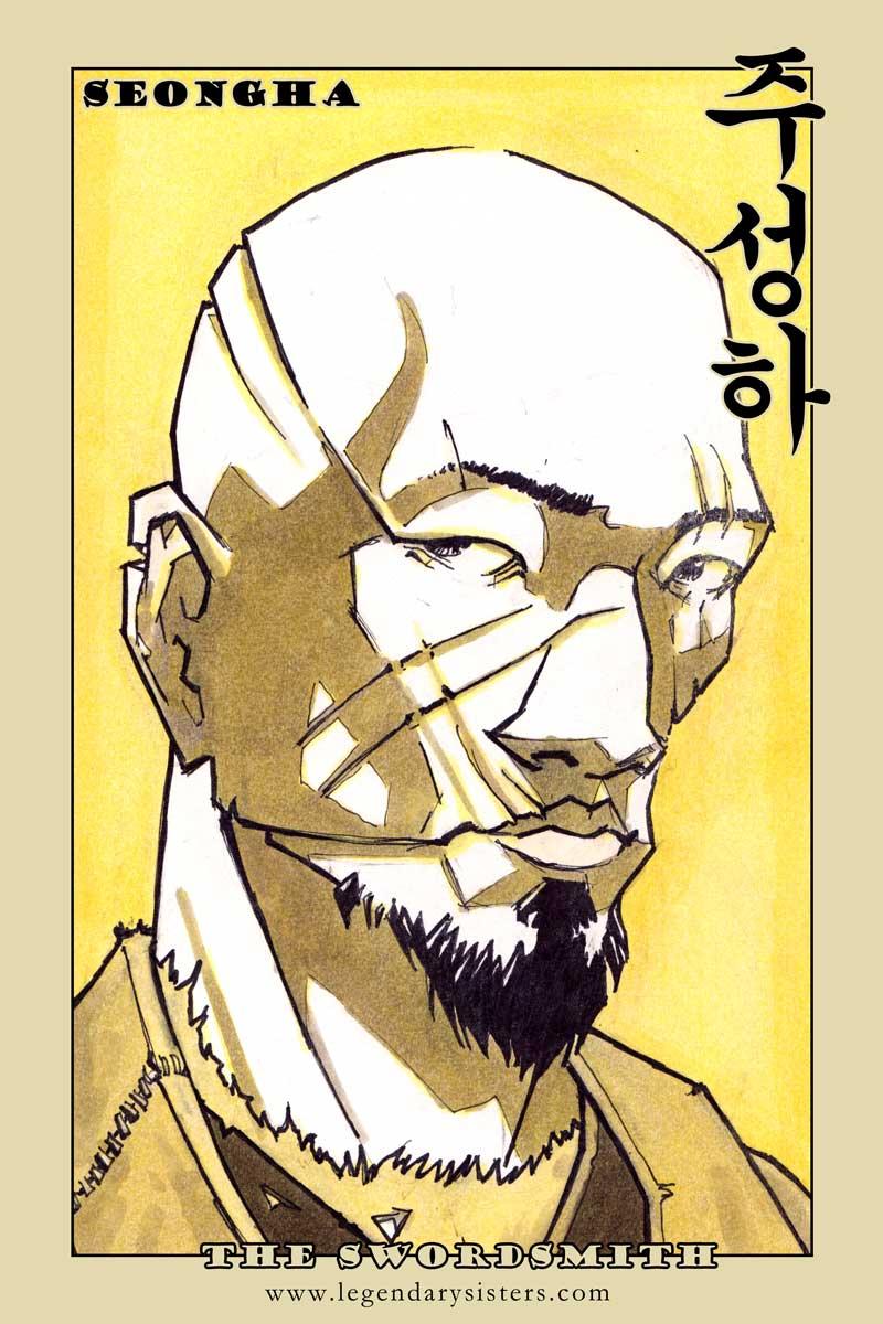 Doggebi Portrait Cards - Set 2 - Seong JaeHa