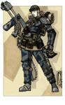 Isabelle - I.G. Storm Trooper (Commission)