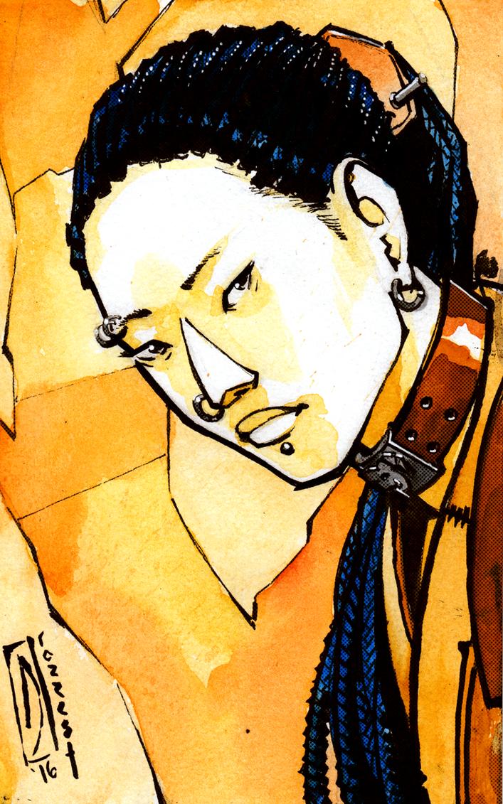 Patreon Reward: Ran Watercolor for Dave by dForrest